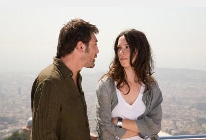 Javier Bardem with Rebecca Hall