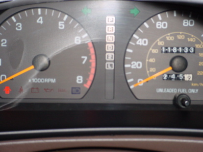 1994 Toyota Camry Instrument Panel