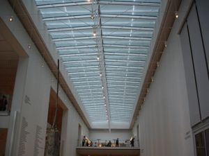 View of the Modern ceiling