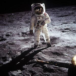 Buzz Aldrin of Apollo 11