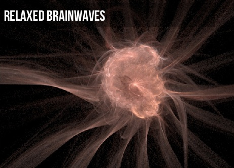 Relaxed Brain Waves