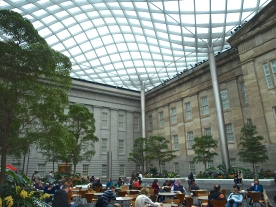 Atrium of Portrait Gallery and Museum of American Art