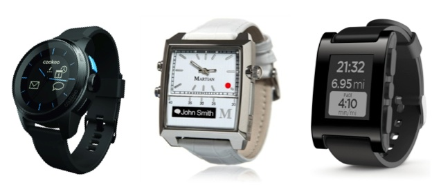 3 Smart Watches
